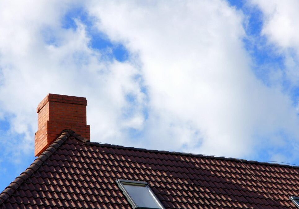 roof with the chimney